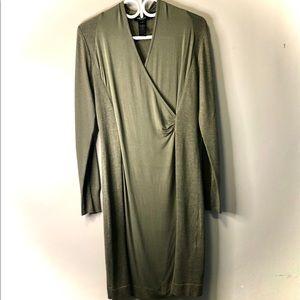 Olsen long sleeve dress